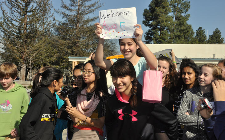 March Japanese Students Welcome